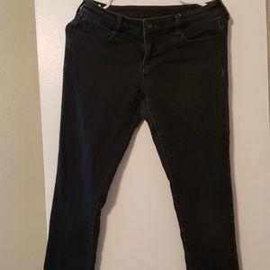 Black Jean Pants